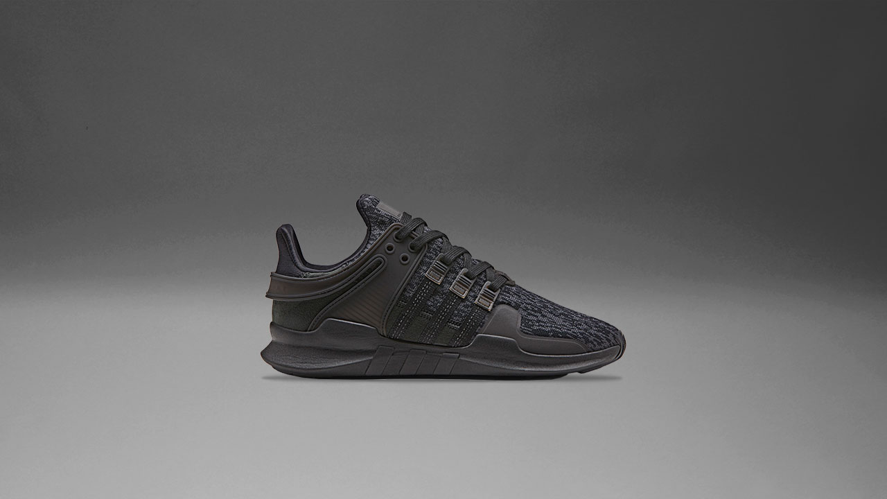 online retailer 7f5ec f3603 adidas Releases Three Triple Black EQT for Black Friday