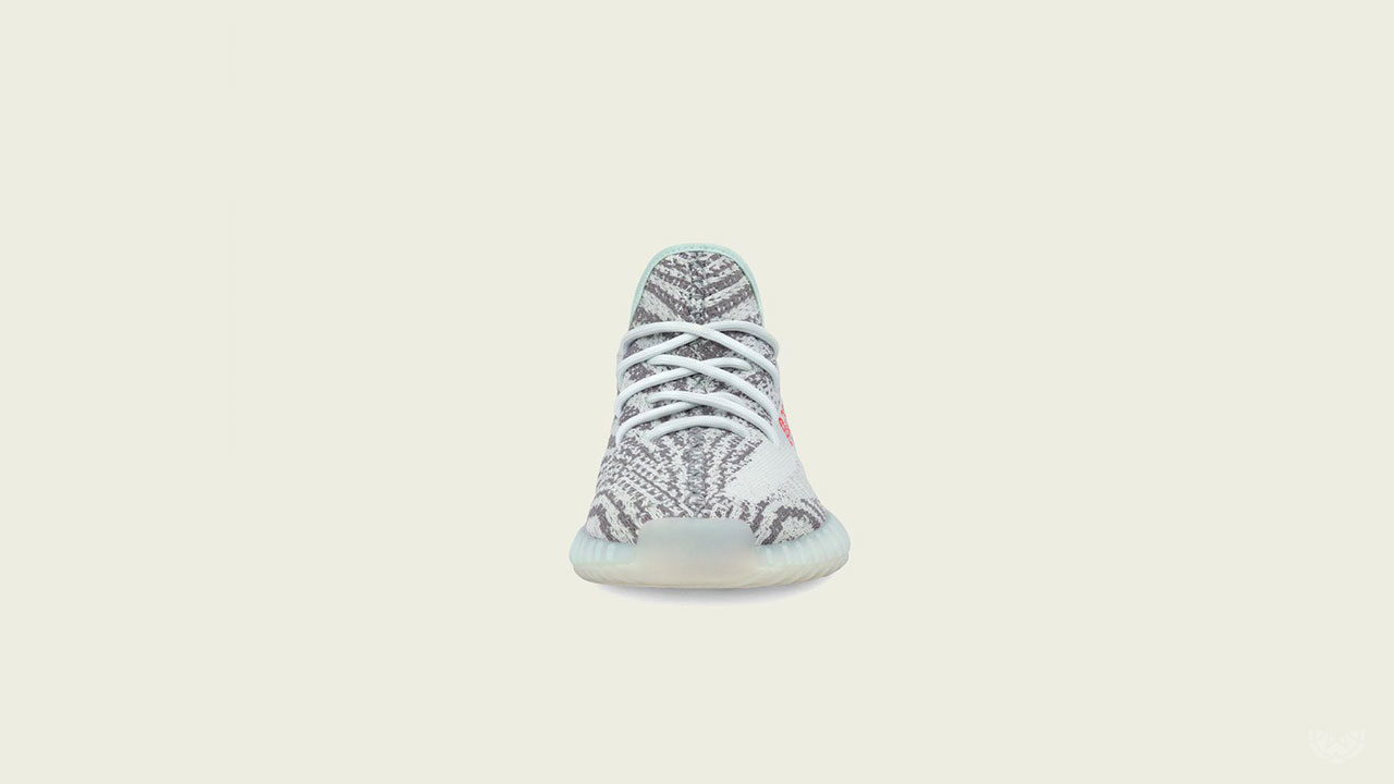 """6298864b SOLE ACADEMY, in partnership with adidas, brings you the adidas Yeezy BOOST  350 V2 """"Blue Tint"""" via raffle release."""