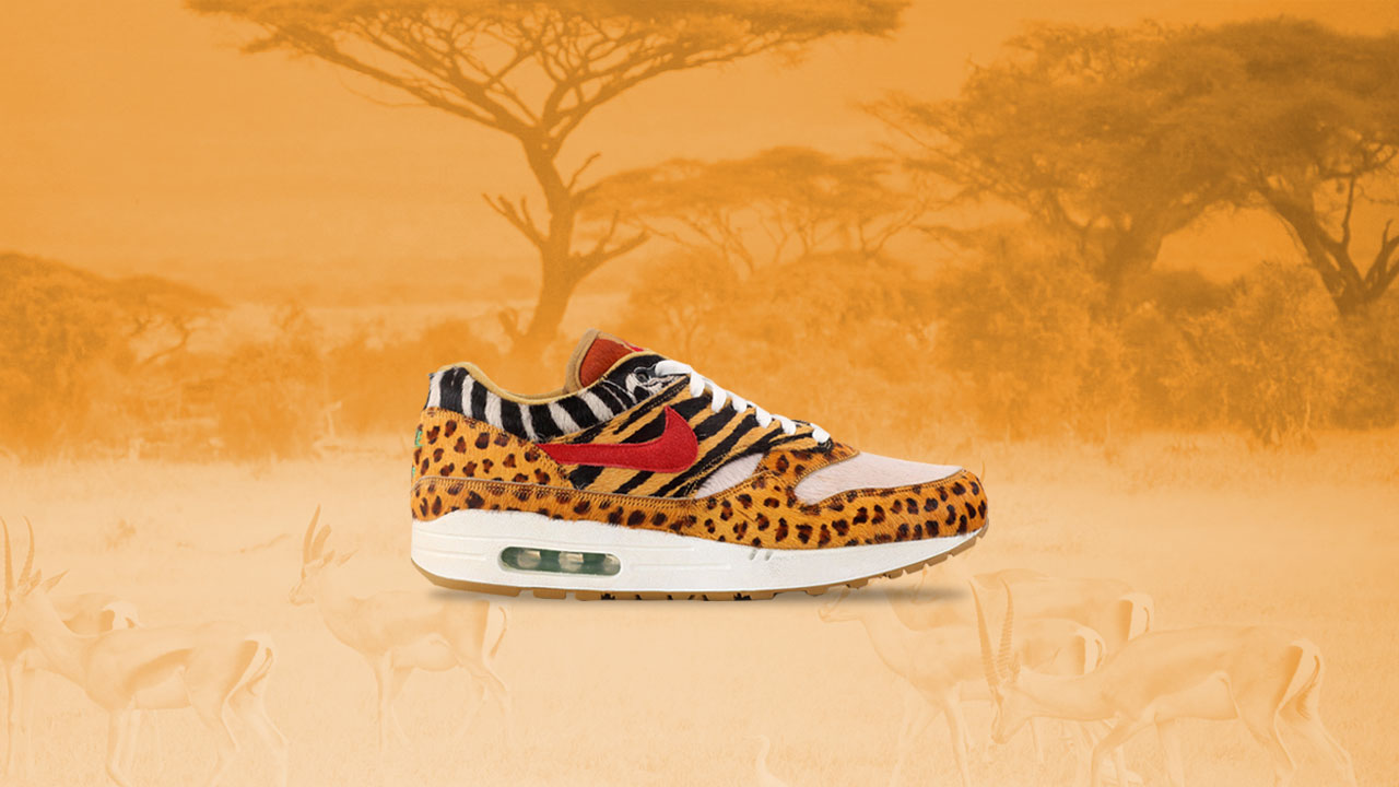available picked up buying new atmos x Nike Air Max 1 Animal Pack Public Raffle Release at ...