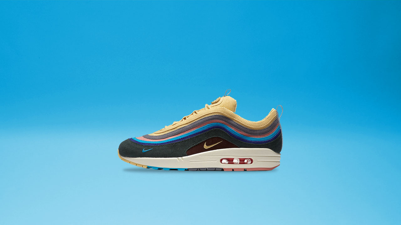the latest 65580 57450 Sean Wotherspoon x Nike Air Max 97/1 Sole Academy Release ...