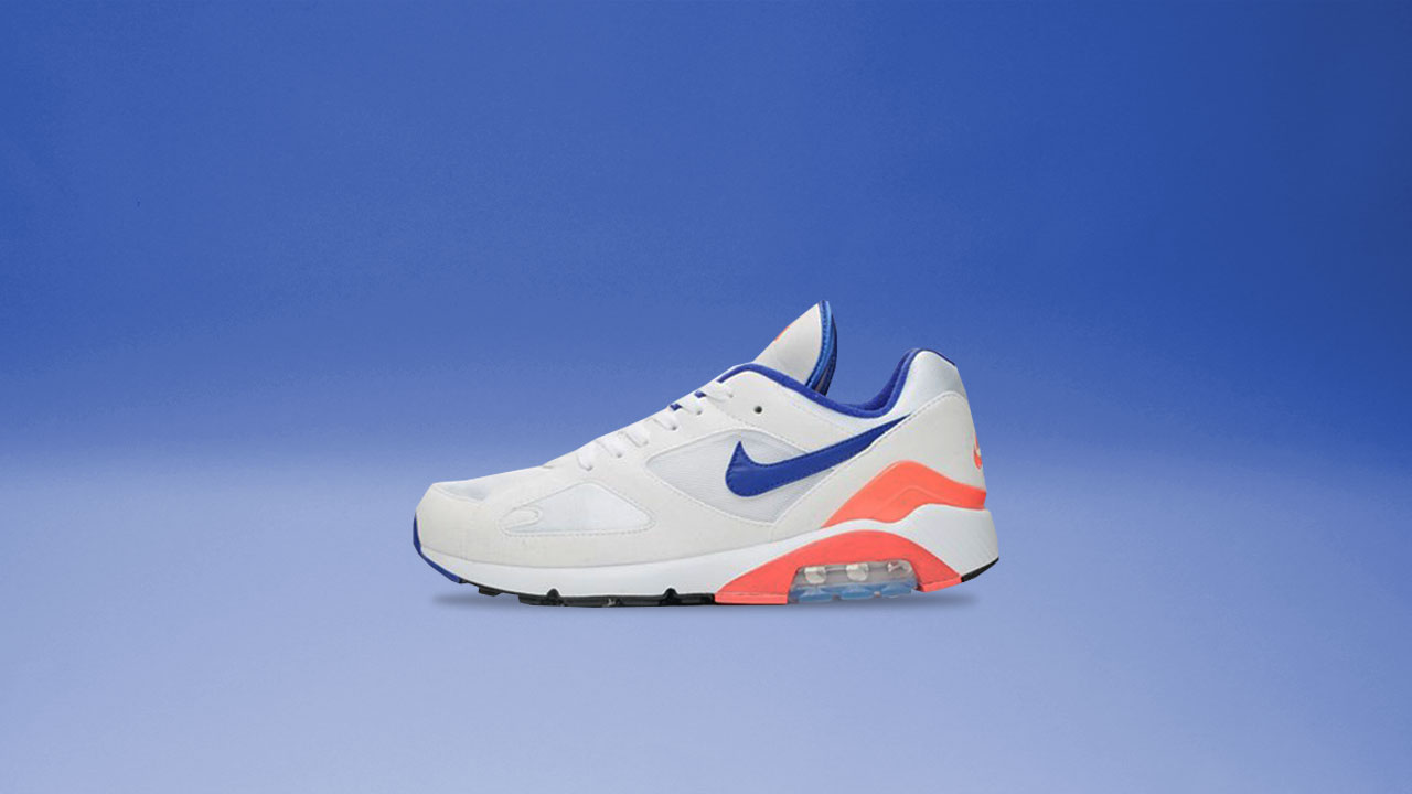 "tout neuf 139e7 cd543 A Look at the OG Air Max 180 ""Ultramarine"""
