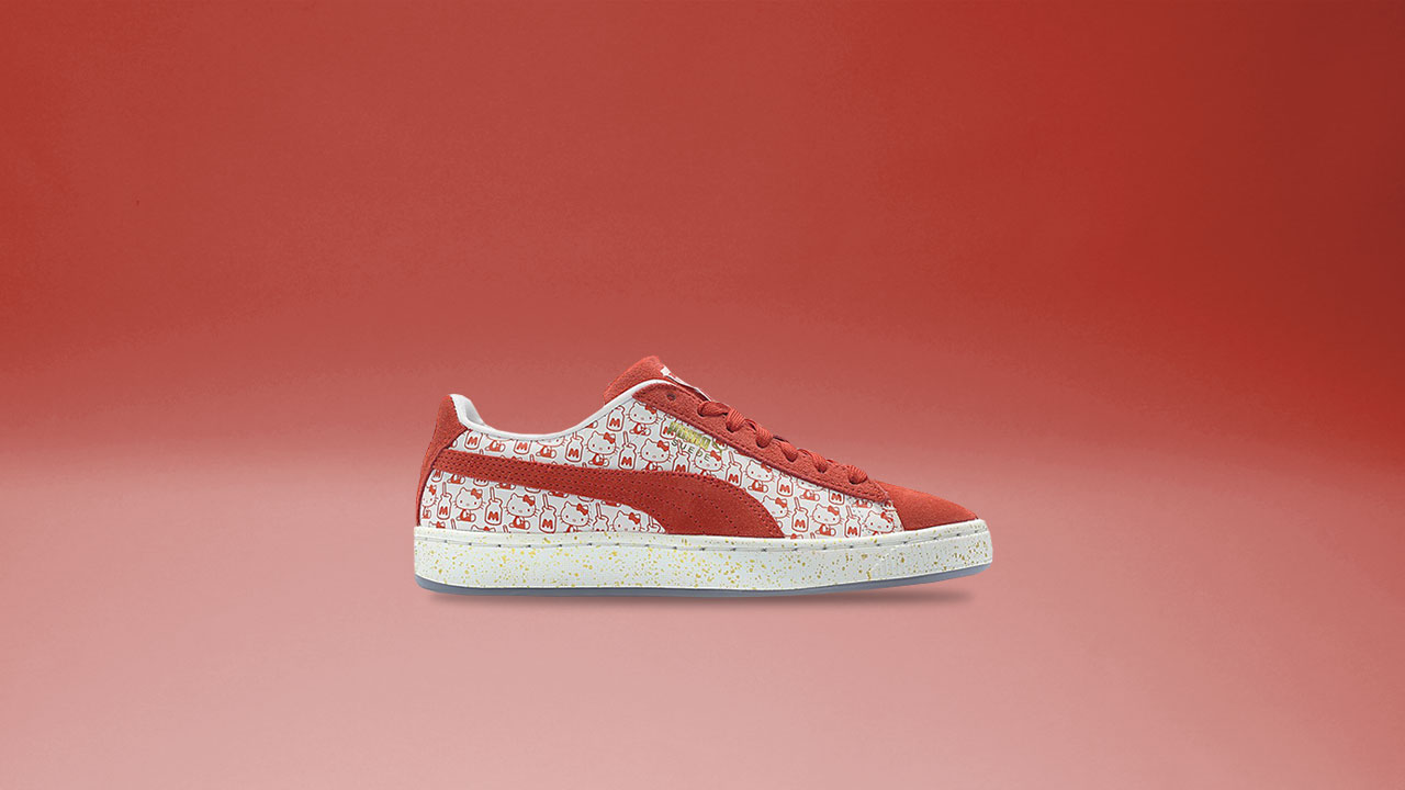 best website 316e8 3ce3e Feel Your Best with the Puma x Hello Kitty Collab