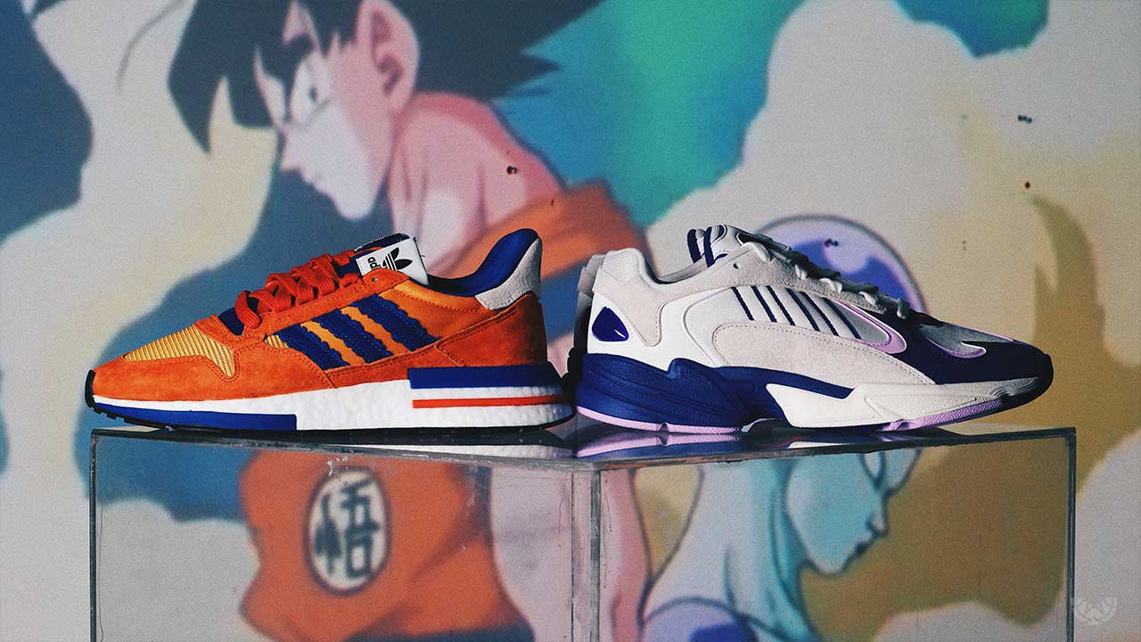 huge selection of f72d9 8fe38 adidas Originals x Dragon Ball Z Sole Academy Release Mechanics