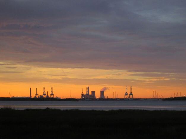 Jacksonville Port Sunset