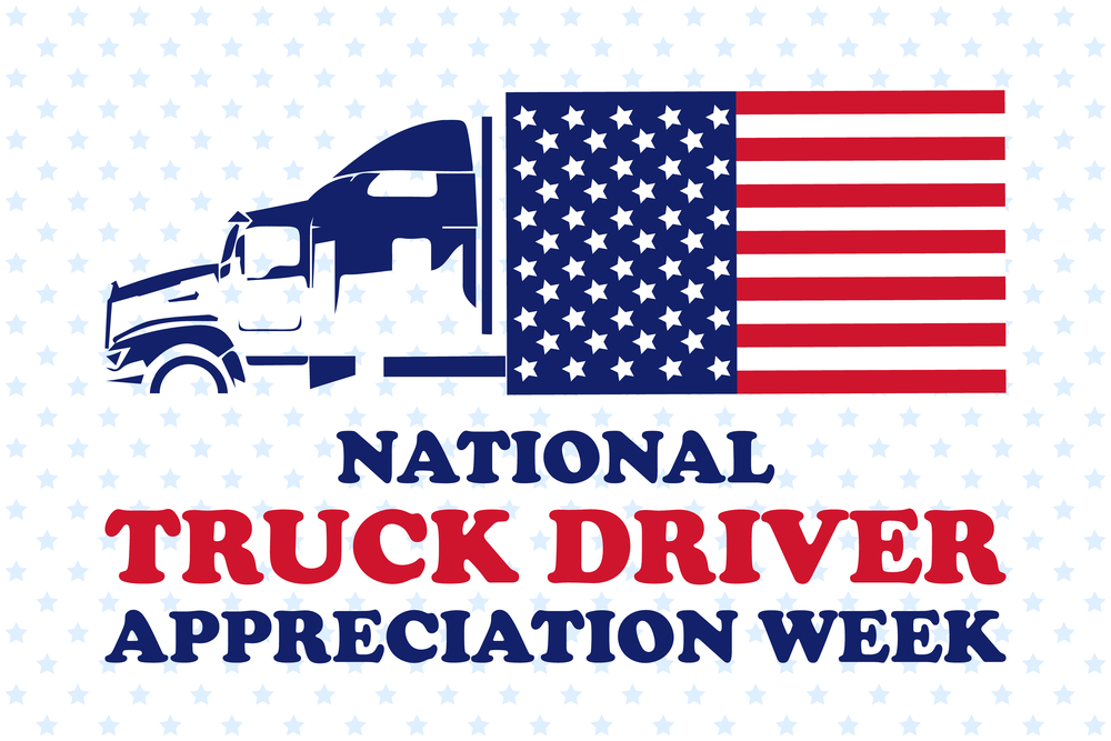 National Truck Driver Appreciation Week Graphic
