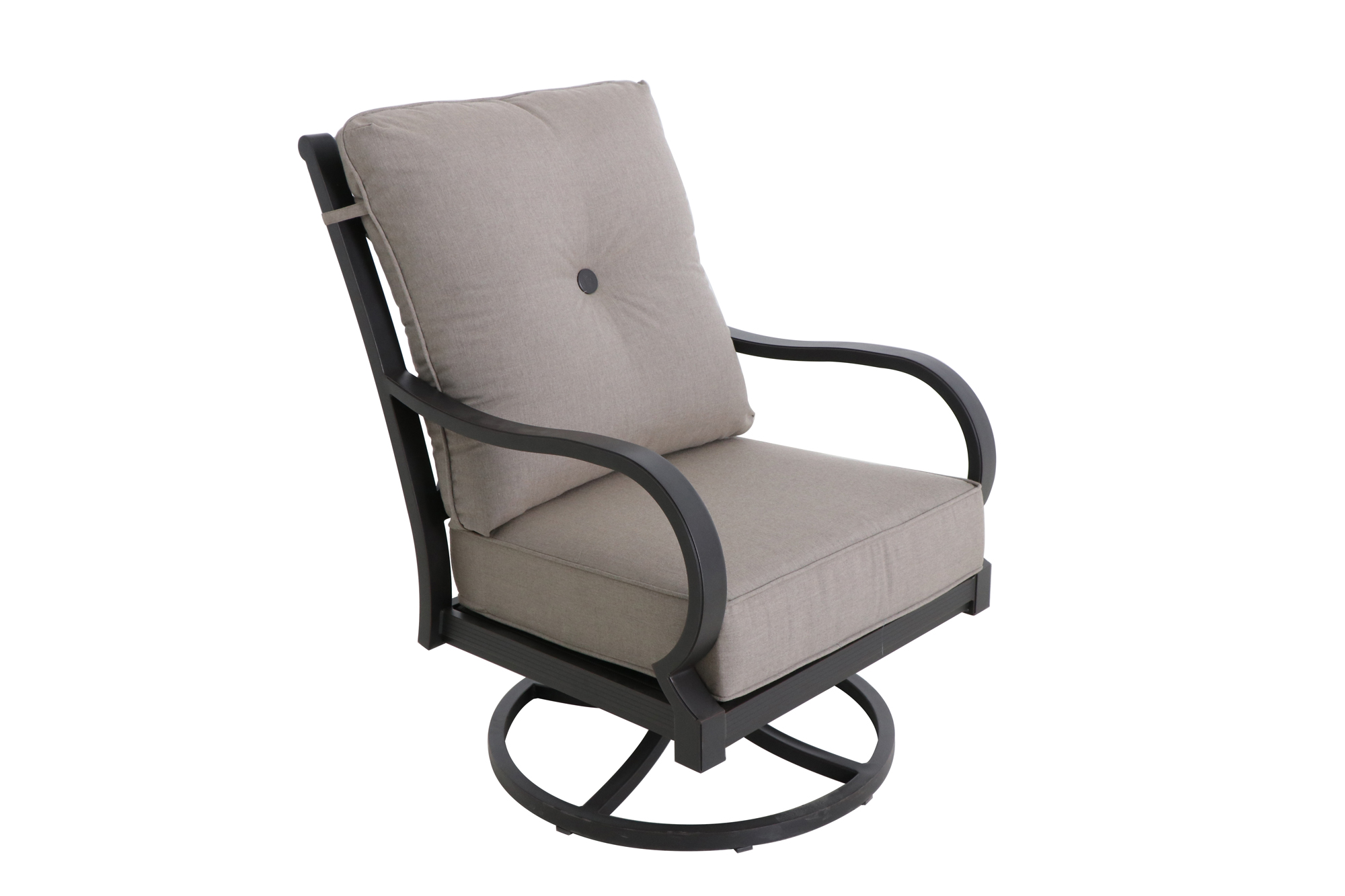 "HIGH BACK SWIVEL LOUNGE CHAIR | 35"" L x 28"" W x 39.5""H"