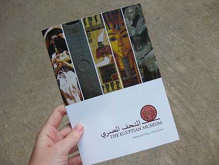 Image of the brochure I designed