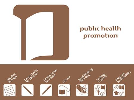 Image of the program logo and symbols I designed