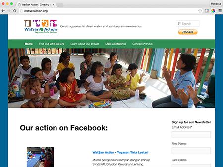 Image of the website I designed
