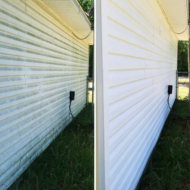 Using soft washing to protect the value of a home in Pensacola, FL