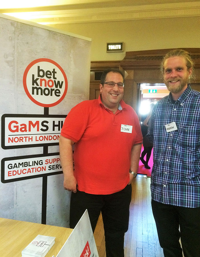 A picture of happy volunteers at Betknowmore gaMs Hub