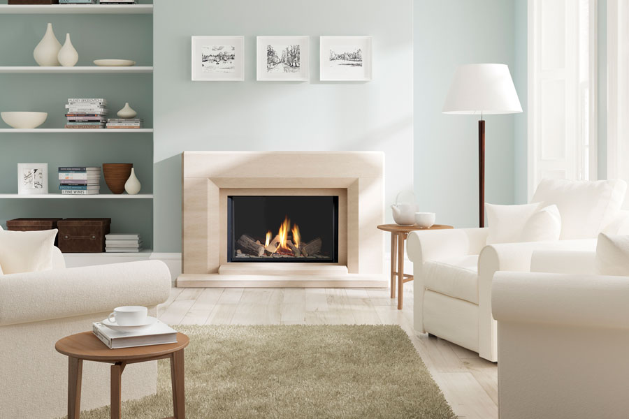 780FL in Edgemond Suite Fireplace at Grate Fireplaces