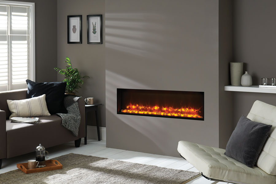 Radiance 105R Inset at Grate Fireplaces