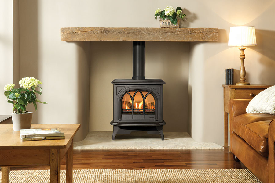 Huntingdon 30 Gas Stove Grate Fireplaces