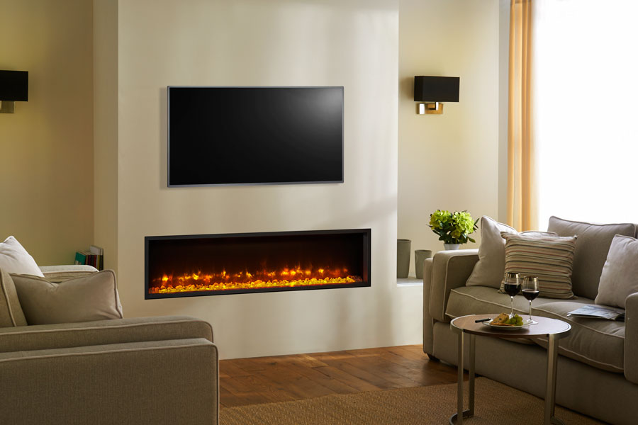 Radiance 140R Inset at Grate Fireplaces
