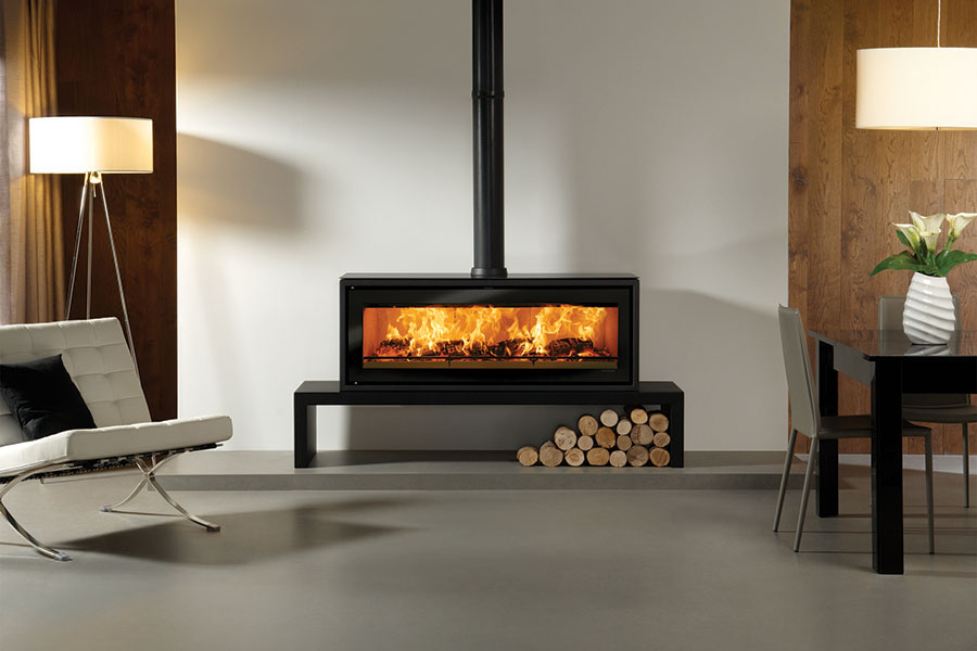 Riva Studio 3 Freestanding at Grate Fireplaces