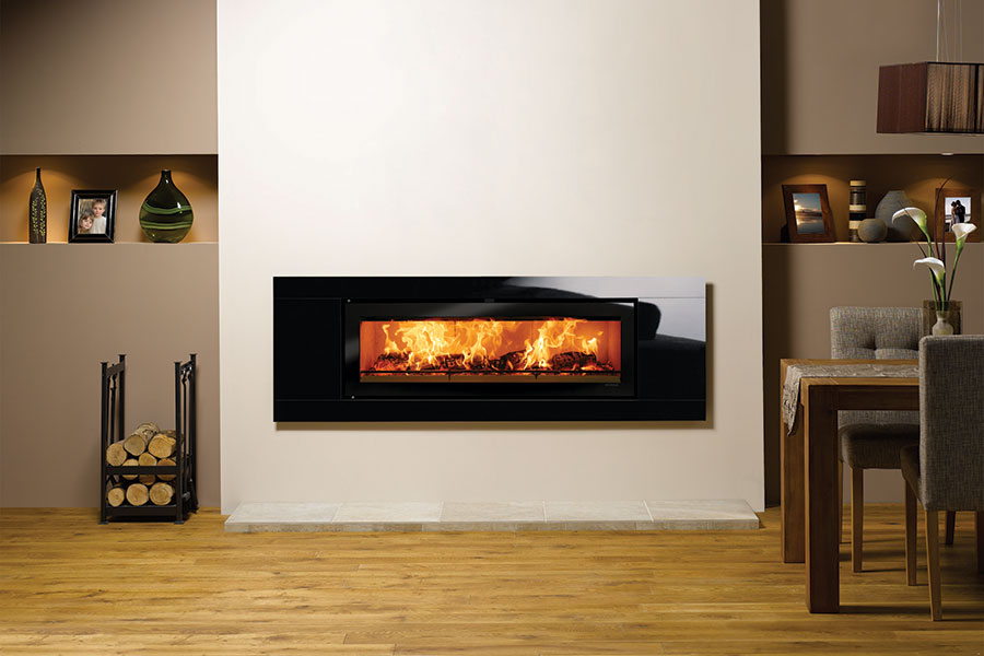 Riva Studio 3 Glass at Grate Fireplaces