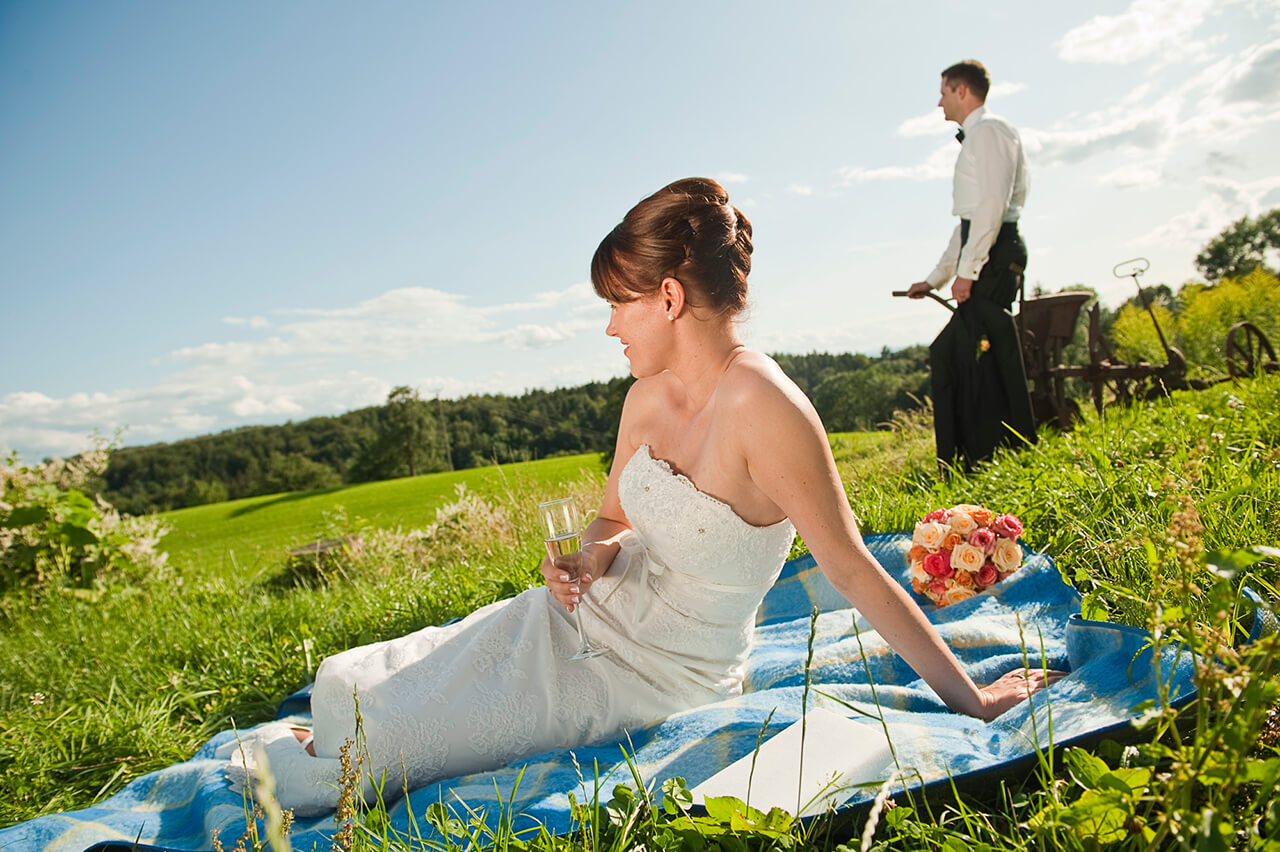 Marriage at the adventure farm in Ravensburg