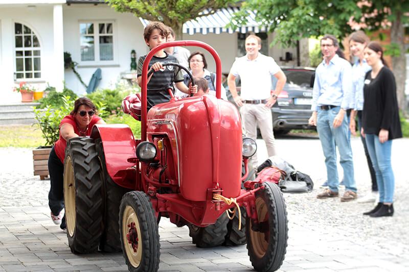 Bauernhofolympiade Ravensburg Gut Hügle