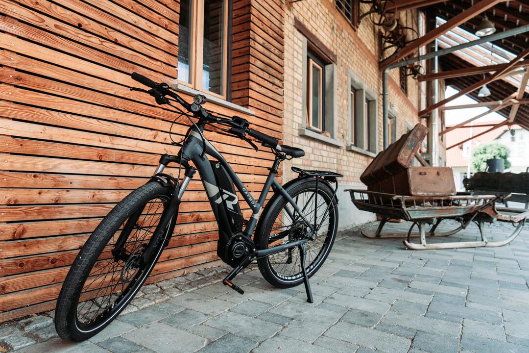 E-Bike Verleih auf Gut Hügle Erlebnishof