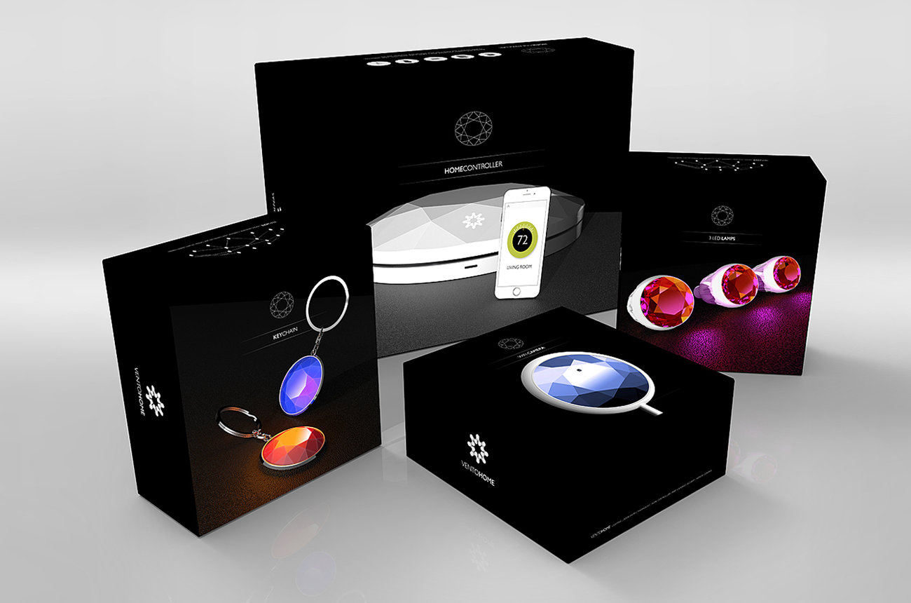 VENTO - Smart Home Packaging