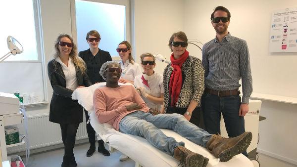 Ministerie van Volksgezondheid, Welzijn en sport op werkbezoek bij Laserkliniek Zwolle