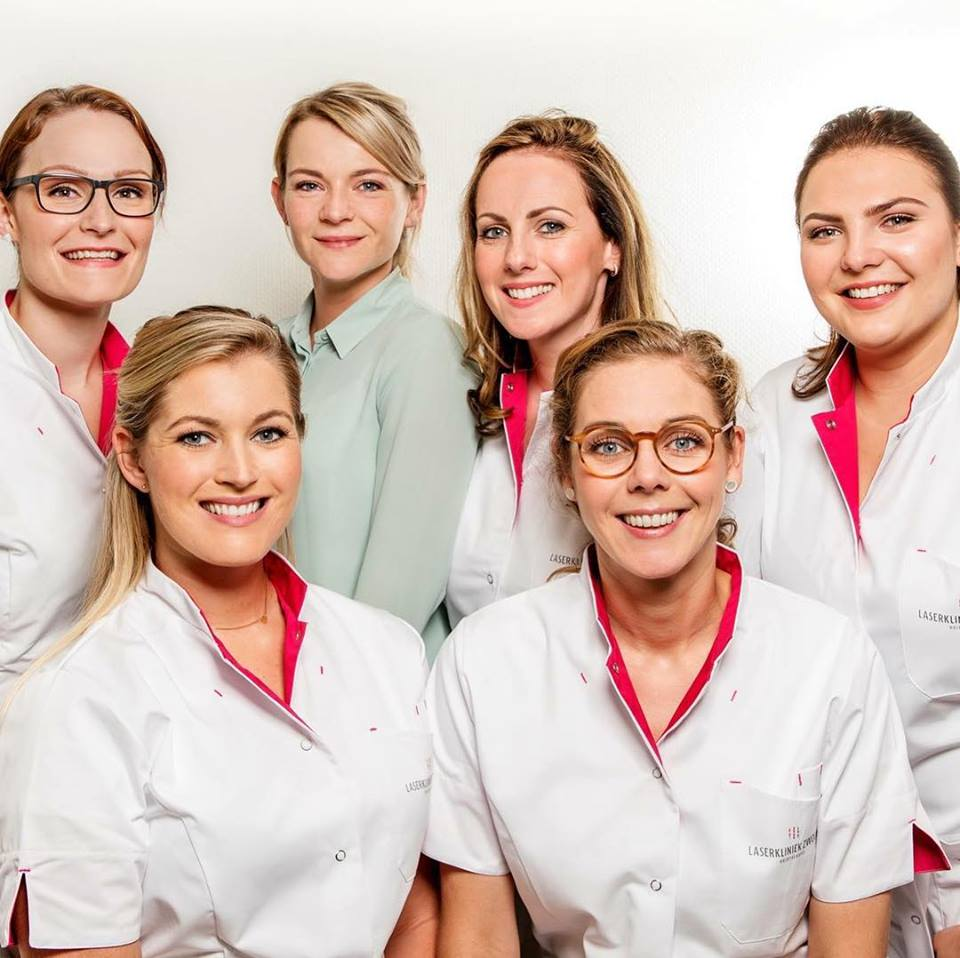 Het team van Laserkliniek Zwolle-Huidtherapie.