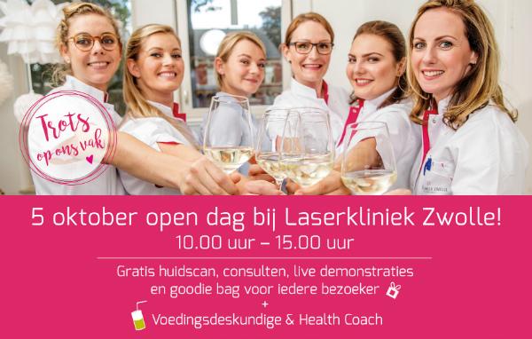Laserkliniek Zwolle Informeert #Editie 8 - Open Dag Op Zaterdag 5 oktober 2019