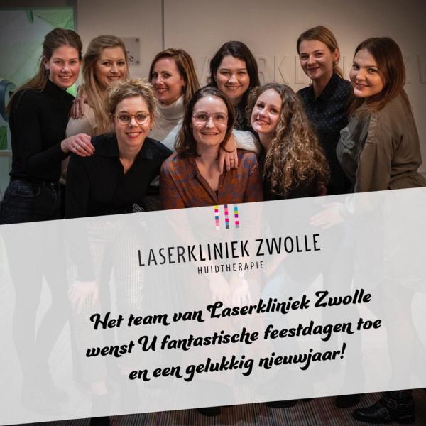 Namens het team van Laserkliniek Zwolle voor iedereen a Bright Christmas & Happy New Year!