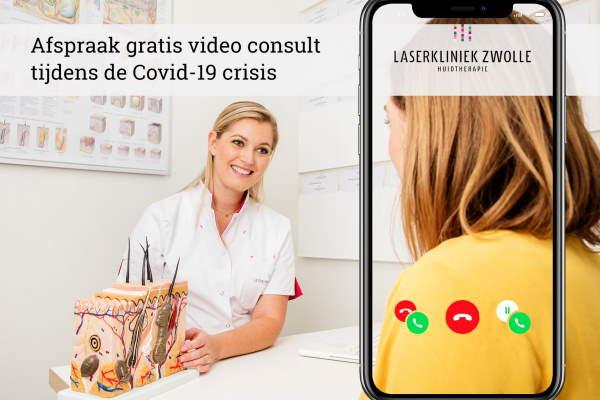 Het videoconsult: nu ook bij Laserkliniek Zwolle!