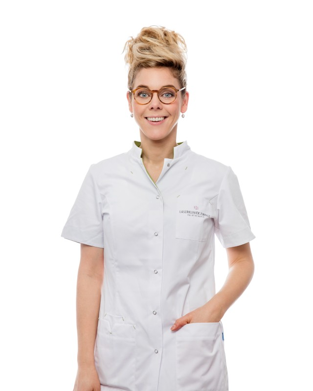 Michelle van Laserkliniek Zwolle-Huidtherapie