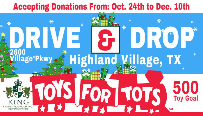 Official Toys for Tots Donation Location