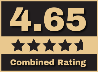 4.65 of 5 Rating!