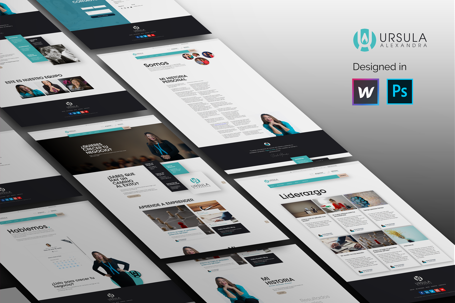 coaching webflow design