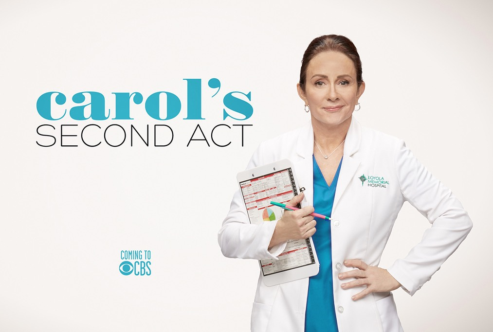 Carol's Second Act Poster