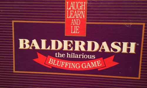 Balderdash 80s board game