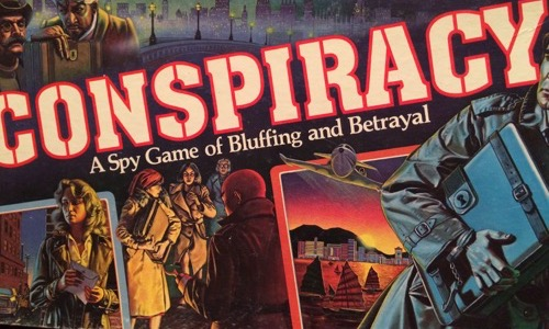 Conspiracy 80s board game