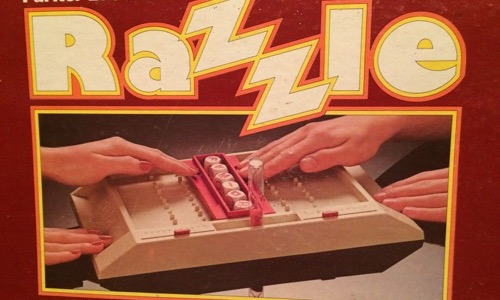 Razzle board game