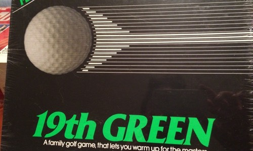 19th Green 80s board game