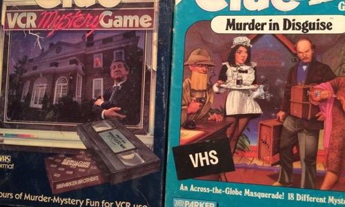 CLUE VCR games