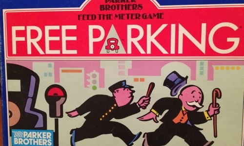 Free Parking boardgame
