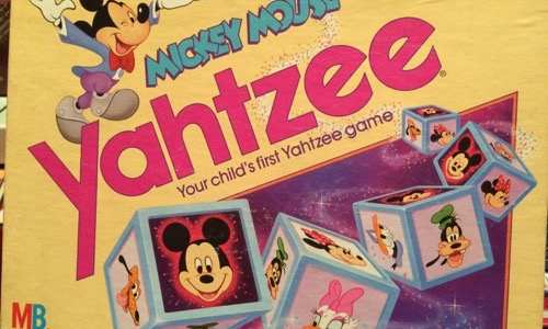 Mickey Mouse Yahtzee
