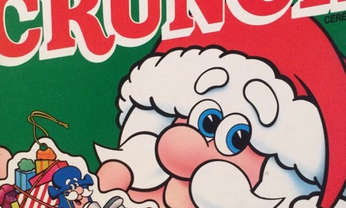 Christmas Crunch Cereal.80 S Then 80 S Now Collection Cereal