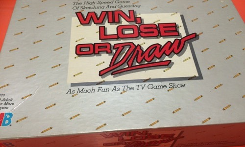 Win, Lose, or Draw board game