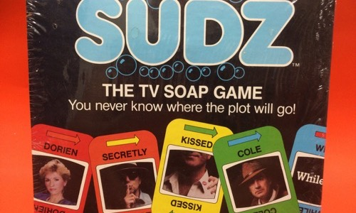 Suds the TV Soap Opera board game