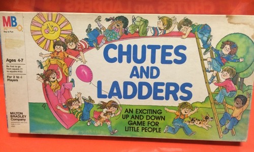 Chutes and Ladders 80s game