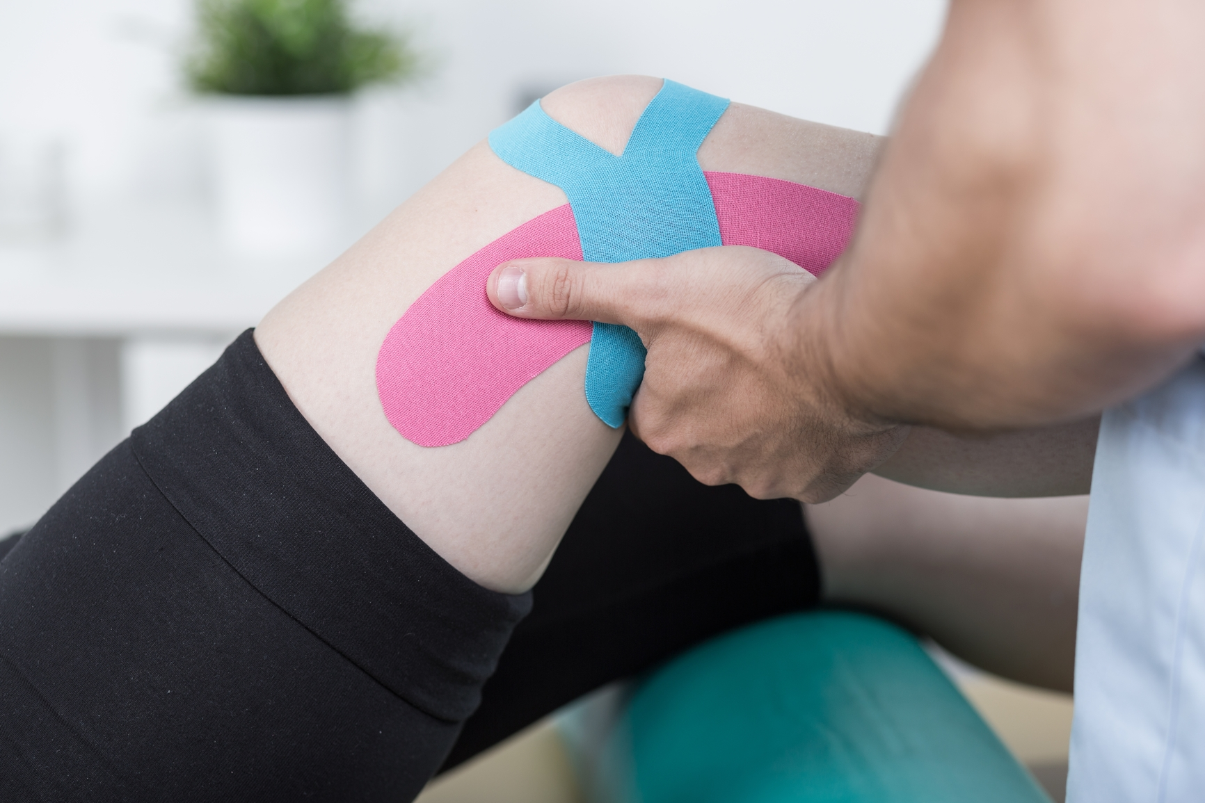 orthopedic therapy kinesio tape