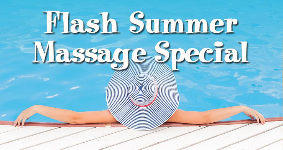 summer massage special