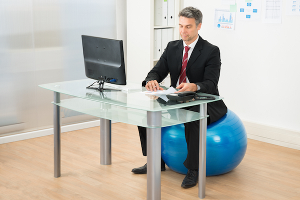 A correct posture with a mild back exercise is critical to prevent a disk herniation