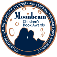 Seal reflecting 2017 Moonbeam Children's Book Award